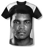 Muhammad Ali - Face It Black Back T-shirts