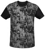 Elvis Presley - TCB Crowd Black Back Shirts