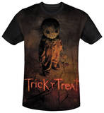 Trick R Treat - Trick Poster Black Back T-Shirt
