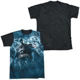 Batman - Stormy Knight Black Back T-shirts