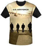 Air Force - Long Walk Black Back Sublimated