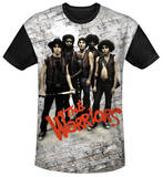 The Warriors - Pose Black Back Sublimated