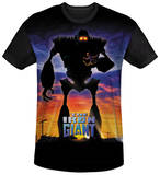 Iron Giant - Giant Poster Black Back T-Shirts