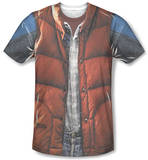 Back to the Future - Mcfly Vest T-Shirt
