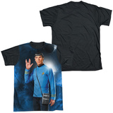 Star Trek - Live Long Black Back T-Shirt