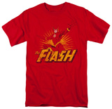 The Flash - Flash Rough Distress T-Shirt