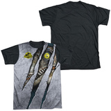 Jurassic Park - Live Raptor Black Back T-Shirt