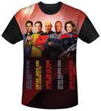 Star Trek - Captains Black Back Sublimated