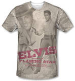 Elvis Presley - Flaming Star Sublimated