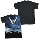 Air Force - Take Off Black Back T-shirts