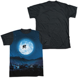 E.T. - Moon Black Back T-shirts