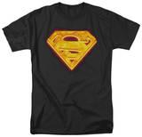 Superman - Hot Steel Shield T-shirts