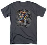 Superman - Break On Through T-shirts