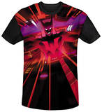Batman Beyond - Batmobile Interior Black Back T-Shirt