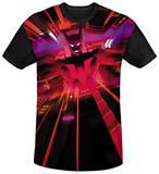 Batman Beyond - Batmobile Interior Black Back T-Shirt