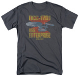 Star Trek - NCC1701 T-shirts