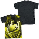 Bruce Lee - Stripes Black Back T-shirts