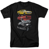 The Fast And The Furious - Muscle Car Splatter Shirts