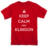 Star Trek - Calm Klingon Shirt