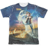 Back to the Future - Movie Poster T-shirts