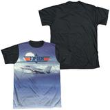 Top Gun - Take Off Black Back T-shirts
