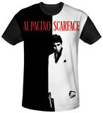 Scarface - Big Poster Black Back T-Shirts