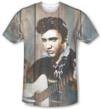 Elvis Presley - Woodgrain Shirt
