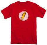 The Flash - Rough Flash Logo T-Shirt