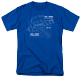 Star Trek - Phaser Plans T-shirts