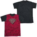 Superman - Super Powers Black Back T-Shirt