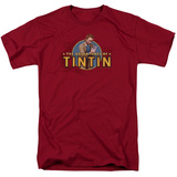 The Adventures of Tintin - Looking For Clues T-shirts