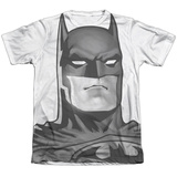 Batman - Black and White Bat Head T-shirts