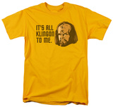 Star Trek - All Klingon T-shirts