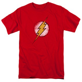 The Flash - Destroyed Flash Logo T-Shirt