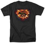Superman - Space Burst Shield Shirt