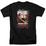 Shaun Of The Dead - Poster T-shirts