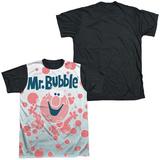 Mr Bubble - Clean Sweep Black Back Shirts
