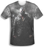 Dark Knight Rises - Bane In Rain T-shirts