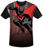 Batman Beyond - Bat Tech Black Back T-Shirts