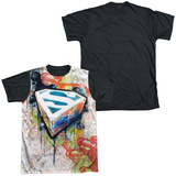 Superman - Urban Shields Black Back Shirts