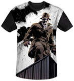 Watchmen - Stormy Black Back T-Shirt