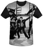 Elvis Presley - Jubilant Felons Black Back T-Shirt