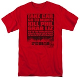 Shaun Of The Dead - List T-shirts