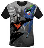 Batman Beyond - Baddie Battle Black Back T-Shirts