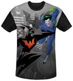 Batman Beyond - Baddie Battle Black Back T-shirts