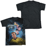 Star Trek - Among The Stars Black Back T-shirts