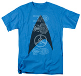Star Trek - Line Of Ships T-shirts
