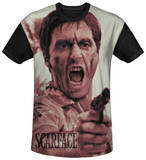 Scarface - War Cry Black Back T-shirts