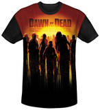 Dawn Of The Dead - Swarm Black Back T-Shirt
