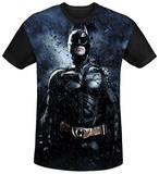 Dark Knight Rises - Stormy Knight Black Back T-shirts